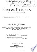 The Puritan's Daughter