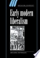 Early Modern Liberalism