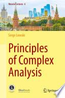 Principles of Complex Analysis