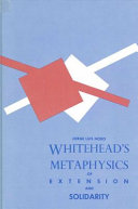 Pdf Whitehead's Metaphysics of Extension and Solidarity