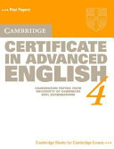 Cambridge Certificate in Advanced English 4 Student's Book