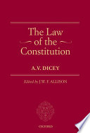 The Law of the Constitution