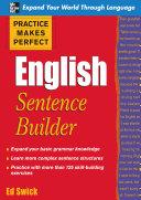 Practice Makes Perfect English Sentence Builder [Pdf/ePub] eBook