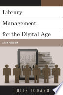 Library Management For The Digital Age Book PDF