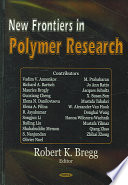 New Frontiers In Polymer Research Book PDF