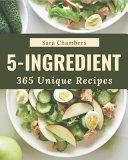 365 Unique 5 Ingredient Recipes Book PDF
