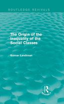 The Origin of the Inequality of the Social Classes [Pdf/ePub] eBook