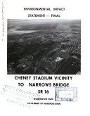 WA-16, Cheney Stadium to Tacoma Narrows Bridge