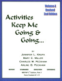 Activities Keep Me Going and Going  Book