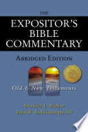 The Expositor S Bible Commentary Abridged Edition Two Volume Set