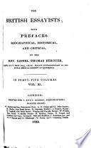 The British Essayists Spectator