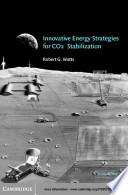 Innovative Energy Strategies For Co2 Stabilization Book PDF