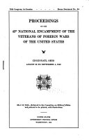 Proceedings of the     National Encampment of the Veterans of Foreign Wars of the United States