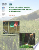 Wheat Flour Price Shocks and Household Food Security in Afghanistan