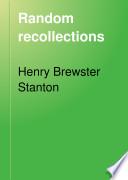 Random Recollections Book PDF