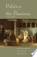 Politics and the Passions  1500 1850 Book