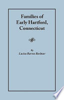Families of Early Hartford, Connecticut