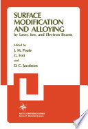 Surface Modification and Alloying