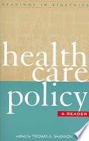 Health Care Policy