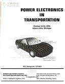 Power Electronics in Transportation