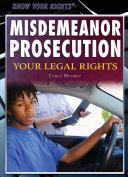 Misdemeanor Prosecution
