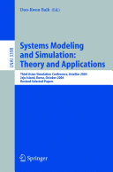 Systems Modeling and Simulation  Theory and Applications