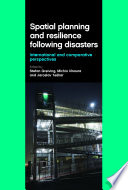 Spatial Planning and Resilience Following Disasters