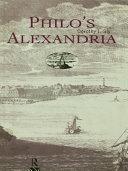 Philo s Alexandria