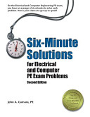 Six-minute Solutions for Electrical and Computer PE Exam Problems