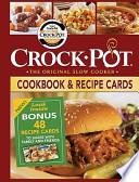 Crock Pot Cookbook & Recipe Cards