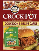Crock Pot Cookbook   Recipe Cards