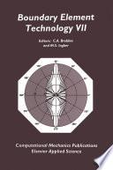 Boundary Element Technology VII