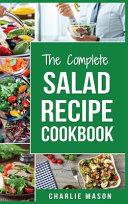 Salad Recipe Cookbook Book