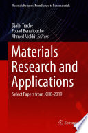 Materials Research and Applications Book