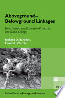 Aboveground Belowground Linkages Book PDF