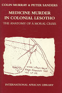 Medicine Murder in Colonial Lesotho