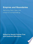 Empires and Boundaries