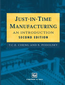 Pdf Just-in-Time Manufacturing
