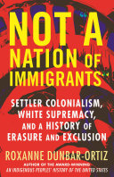 Not A Nation Of Immigrants Book PDF