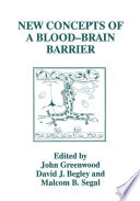 New Concepts of a Blood   Brain Barrier