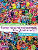 Human resource management in a global context a critical approach