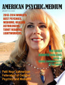 AMERICAN PSYCHIC & MEDIUM MAGAZINE. DELUXE EDITION IN FULL COLORS. January Issue 2014.