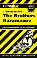 CliffsNotes on Dostoevsky s The Brothers Karamazov Book