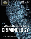 WJEC Level 3 Applied Certificate & Diploma Criminology