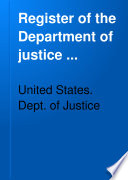 Register of the Department of Justice