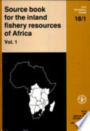 Source Book for the Inland Fishery Resources of Africa