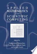 Applied Mathematics And Scientific Computing