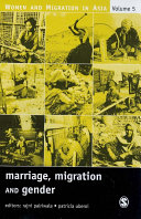 Marriage  Migration and Gender