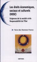 Les droits économiques, sociaux et culturels (DESC)