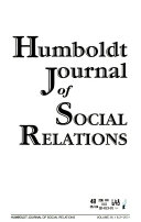 Humboldt Journal of Social Relations